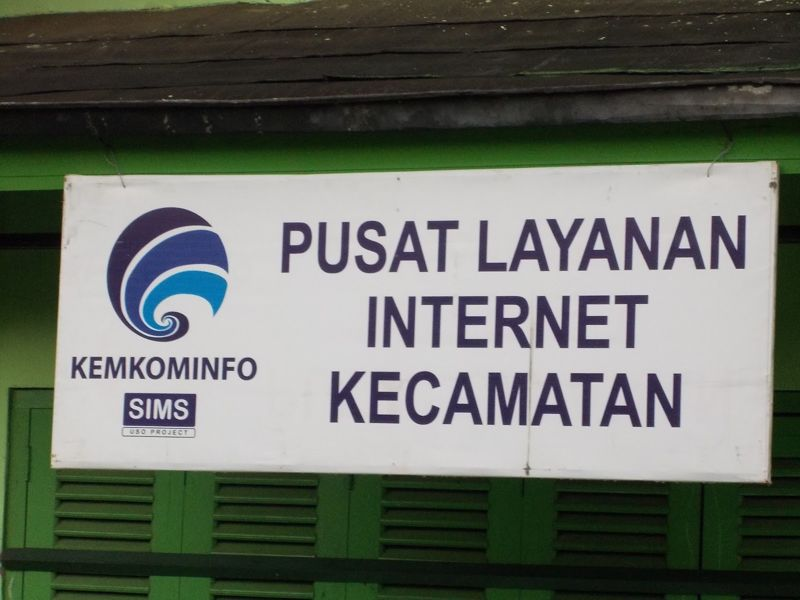 Pusat Layanan Internet Kecamatan